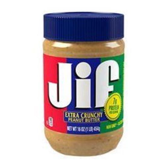 تصویر کره بادام زمینی Jif مدل Extra Crunchy